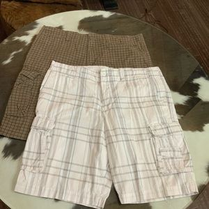 Op cargo shorts lot of two pairs EUC